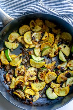 Easy Sautéed Squash and Zucchini Recipe - side dishes #sidedishes Baked Squash And Zucchini Recipes, Parmesan Zucchini Fries, Yellow Squash Recipes, Summer Squash Recipes, Zucchini Noodle Recipes, Vegetable Recipes, Broiled Lobster Tails Recipe, Sauteed Squash, Easy Baked Pork Chops