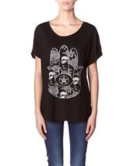 OBEY - ALL SEEING PALM T-SHIRT - BLACK on http://www.surfstitch.com