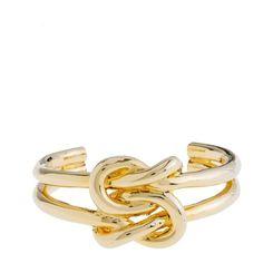 Knot Bracelet ($78) ❤ liked on Polyvore