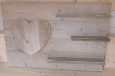 steigerhout wandbord
