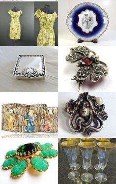 Vogueteam Belated Tuesday Finds by Nancy on Etsy--Pinned with TreasuryPin.com