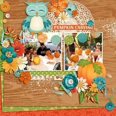 Pumpkin Carving - Scrapbook.com
