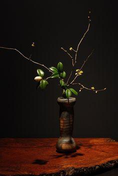 Bizen flower vase by Makoto KANESHIGE, Japan 金重まこと