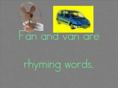 rhyming words song