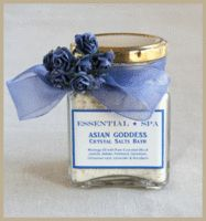 Asian Goddess - Crystal Salts bath