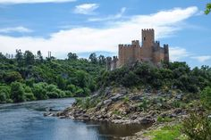 #Templar #castle of Almourol #Portugal