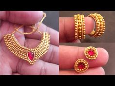Thread Jewellery, Fabric Jewelry, Beaded Jewelry, Handmade Jewelry, Thali Decoration Ideas, Diy Diwali Decorations, Laddu Gopal Dresses, Barbie Doll Set, Diy Friendship Bracelets Patterns