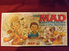 The Mad Magazine Game--Parker Brothers, 1979