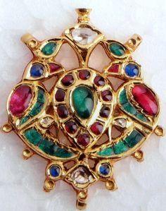 Peacock design pendant