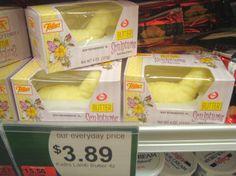 Lamb-shaped butter.