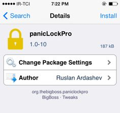 awesome panicLockPro locks specific apps on your iPhone via an Activator gesture Check more at http://www.cydiaworld.com/paniclockpro-locks-specific-apps-on-your-iphone-via-an-activator-gesture.html