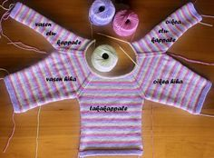 Vauvan huppari   Punomo Vase, Knitting For Kids, Wildfox, Knit Crochet, Sweaters, Babys, Tejidos, Projects To Try, Sweater