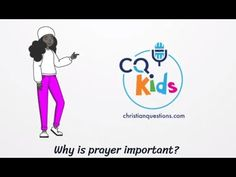 Because this is the proper way to communicate with God and feel closer to Him. Watch Now! Why Is Prayer Important, Bible Videos For Kids, Ways To Communicate, Closer, Prayers, God, Feelings, Watch, Youtube