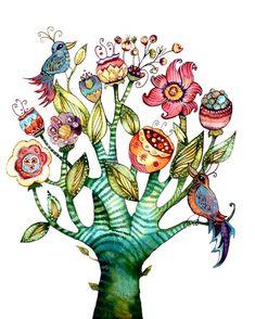 Mother's day gift idea tree of life por claudiatremblay en Etsy