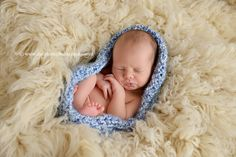 Blue Skies Newborn Baby Bowl | Beautiful Photo Props