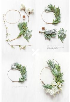 How to Make a Wreath for Christmas – Issuu - Wreath Ideen Christmas Wreaths, Christmas Crafts, Christmas Decorations, Christmas Christmas, Xmas, Balloon Decorations, Wedding Decorations, Floral Hoops, Deco Floral