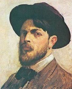 Eliseu Visconti Self Portrait by Eliseu Visconti