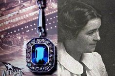 Though it seemed like a pretty piece of fiction created by James Cameron, it turns out that there was a diamond and sapphire necklace on board that fatal night, given to a young girl, Kate Florence Phillips, 20, by her married paramour, Henry Samuel Morley, 40.
