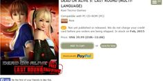 Dead or Alive 5 Last Round PC Wont Have Online Play atLaunch - The Dead or Alive series will make its PC debut with Dead or Alive 5: Last Round on February 17, 2015, but the fighting game won't launch with all of its features.According to the