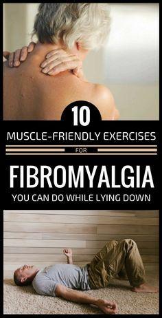 10 Muscle-Friendly Exercises For Fibromyalgia You Can Do While Lying Down Fibromyalgia Exercise, Fibromyalgia Syndrome, Fibromyalgia Treatment, Chronic Fatigue Syndrome Diet, Chronic Fatigue Symptoms, Chronic Pain, Chronic Illness, Chronic Tiredness, Treating Fibromyalgia