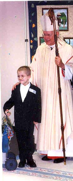 Mattie's Up for Canonization in the Catholic church.  He was a peacemaker, a philosopher, a spiritual teacher, an ambassador for peace and hope, and a true angel.