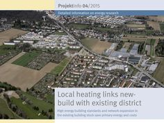 "The BINE-Projektinfo brochure entitled ""Local heating network combines new-build schemes with existing district"" (04/2015) presents the district energy concept with its two components – energy-optimised construction and efficient heating provision. Based on the example of Ludwigsburg, methods and tools have been developed and tested that can be transferred to other cities with a comparable structure."