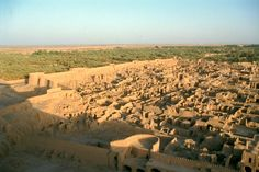 Bam, Iran. An archaeological ruin destroyed by an earthquake in 2003.