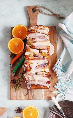 Deliciosa receta de pan dulce de naranja y cardamomo: Pull Apart Bread. Ven a verlo!