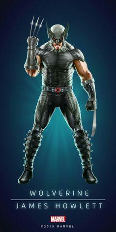 Wolverine - James Howlett