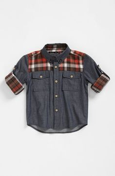 Sovereign Code 'Barnacle' Button Down Shirt (Toddler Boys) | Nordstrom