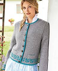 Damenjanker in Lana Grossa Alpina & Cool Wool Big - - PDF. Discover more patterns von Lana Grossa at LoveKnitting. The world's largest range of knitting supplies - we stock patterns, yarn, needles and books from all of your favourite brands. Cardigan Design, Knit Cardigan, Big Knits, Plus Size Sweaters, Knitting Patterns Free, Types Of Sleeves, Knit Crochet, Knitwear, Tops