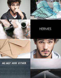modern god aesthetics:hermes