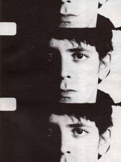 Lou Reed screen test by Andy Warhol Andy Warhol, The Velvet Underground, Everybody's Darling, Bowie, Screen Test, Idole, Instant Camera, Music Icon, Classic Rock