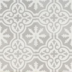 grey Moroccan bazaar reproduction tile | jatana interiors