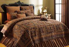 primitive patchwork bedding set <3