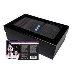 Set caciula cu casti handsfree Bluetooth si manusi pentru ecranele tactile Serioux SRXA-BLT-SET01 Negociaza pretul pe OferteUnice