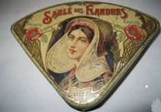 French shortbread tin