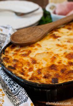 Scalloped Ham and Potato Casserole - A Family Feast