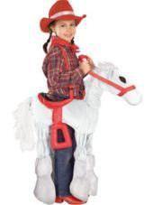 White Horse Costume for Girls - Halloween City