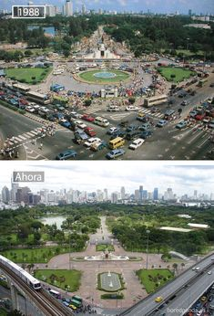 Bangkok, Thailand – 1988 Y 2007 Then And Now Pictures, Before And After Pictures, World Cities, Countries Of The World, Kuala Lumpur, Before After Photo, Photos Voyages, Urban City, Famous Places