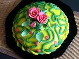 Marcipánová hmota - varna Marshmallow, Food Art, Birthday Cake, Birthday Cakes, Marshmallows, Cake Birthday