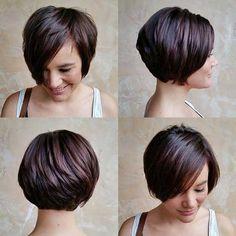Sehen muss, Braune Kurze Frisuren für Frauen //