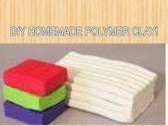 Homemade Polymer Clay Diy💟