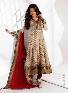 2f41109a212 Off White Viscose Plus Size Salwar Kameez With Matching Dupatta Salwar Suits  Online