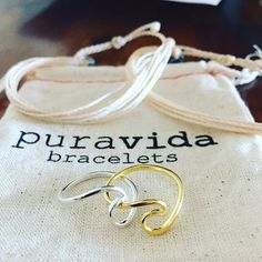 Shop our #puravidabracelets Wave Rings - only $12 and all sizes available in silver and gold  #surfergirl #mermaid #beachin #bikinislayer #puravida #wave #surf #ocean #musthave #wanderlust