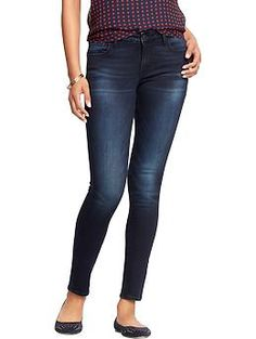 Womens The Rockstar Mid-Rise Super Skinny Jeans // size 16 REG // Color: Laurel Heights