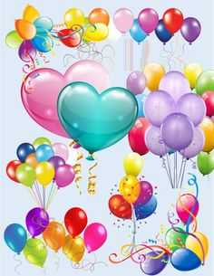Balloon Image, Balloon Pack Clipart, Large Clipart, Full Page Images,Transparent Backgroun Happy Birthday Words, Happy Birthday Greetings Friends, Happy Birthday Wishes Images, Happy Birthday Video, Happy Birthday Celebration, Happy Birthday Pictures, Birthday Wishes Cards, Happy Birthday Balloons, Birthday Quotes