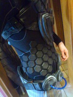 Sci Fi Foam Armor Templates Creation sci fi armor 21