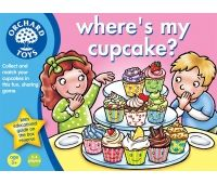 Where's My Cupcake - by Orchard Toys. A lovely game that teaches manners and sharing as social skills as well as lots of other educational value - comes with a cup cake recipe