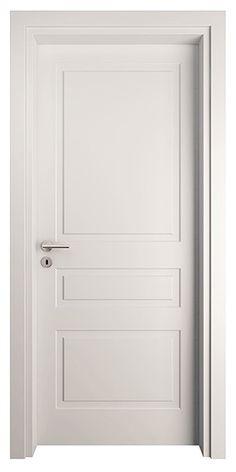 Transitional Interior Doors, White Interior Doors, Interior Door Styles, Painted Interior Doors, Door Design Interior, Home Room Design, Room Interior, Wooden Door Design, Main Door Design